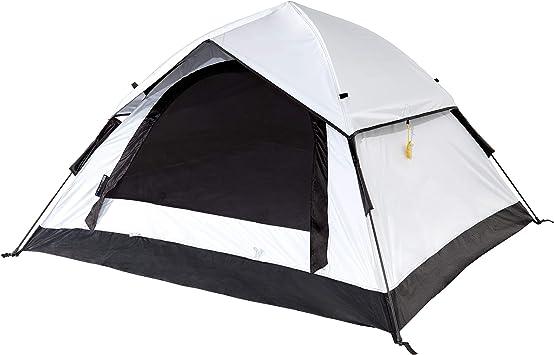 Lumaland Tienda de campaña Outdoor Light Pop Up Ligera para 3 Personas Camping Acampada Festival 210 x 190 x 110 cm Cool Reflective: Amazon.es: Deportes y aire libre