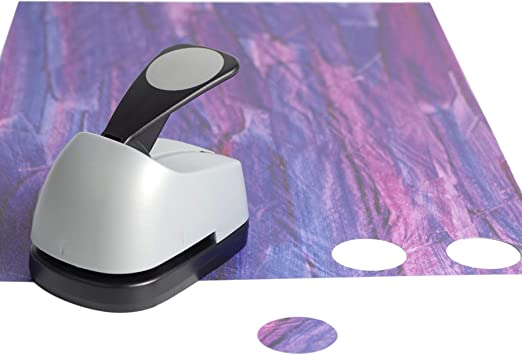 Crafts Lever Punch 1 inch Circle Punch DIY Handmade Paper Puncher