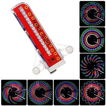 Luces para Rueda de Bicicletas, URAQT Rueda del LED de Bicicletas,Radios de Bicicleta Luces Impermeables ...
