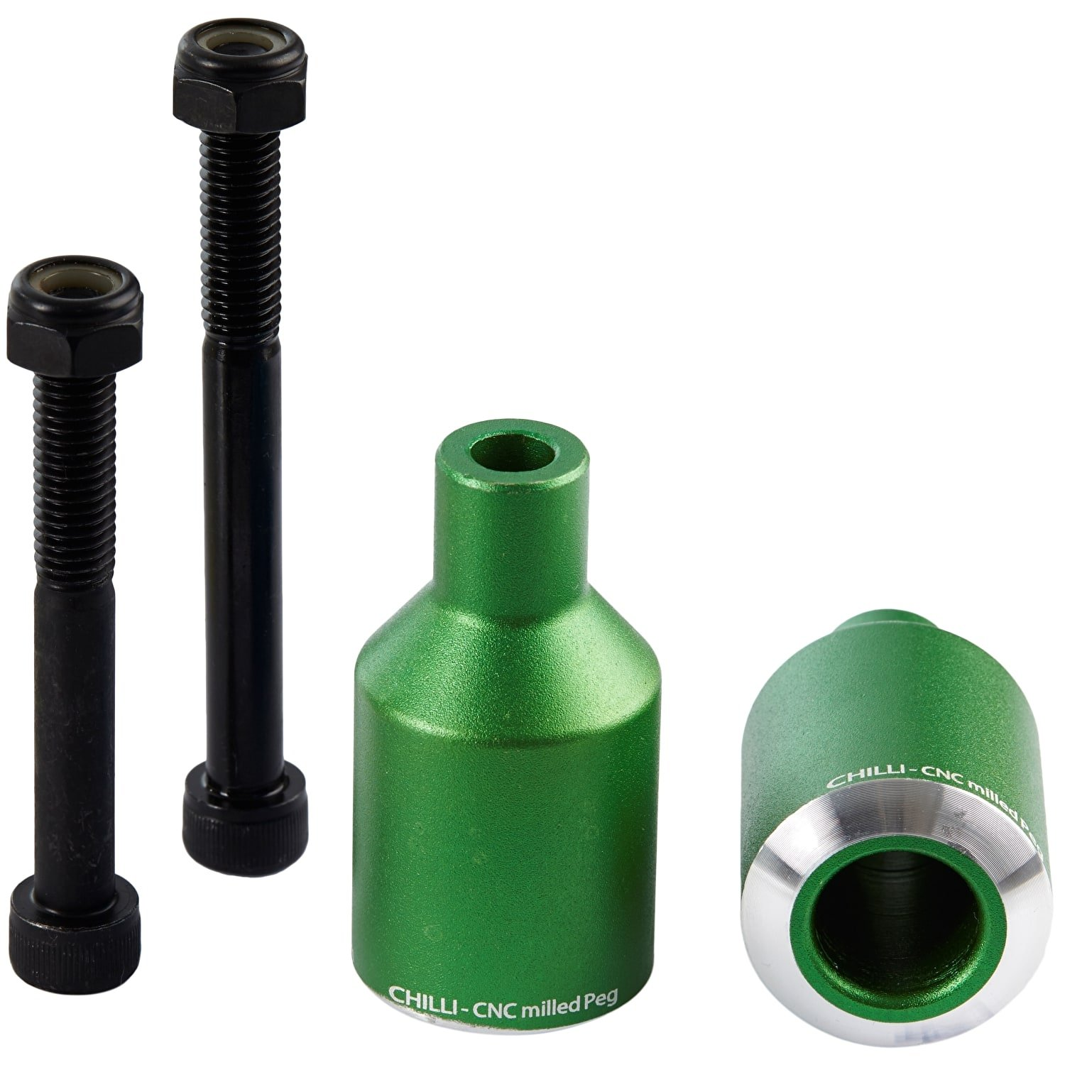 Chilli Pro Scooter Rocket Pegs (Green) by Chilli Pro Scooter