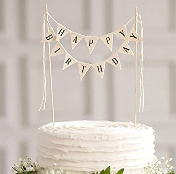 LIMITLESS Happy Birthday Cake Topper Banner
