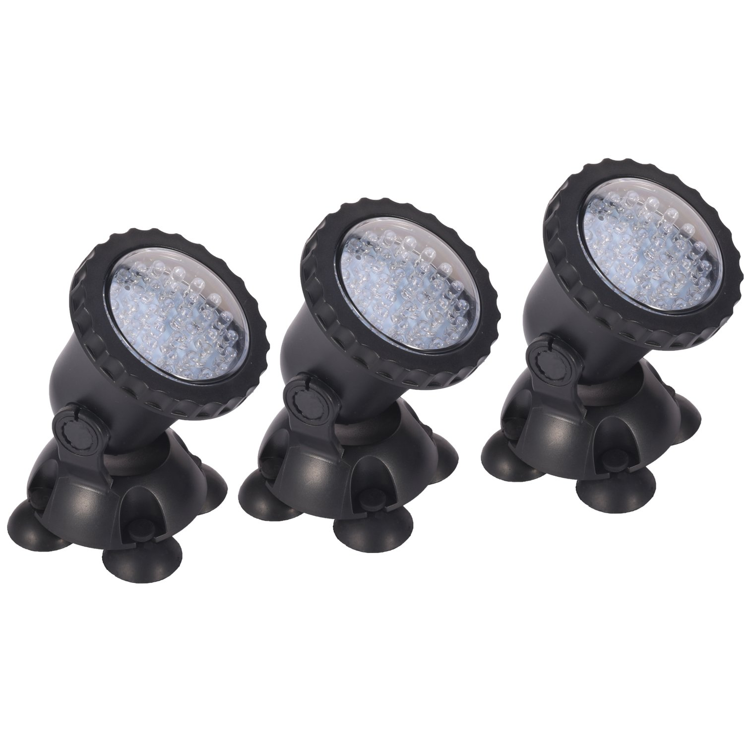 Remote control Submersible Lamp 3 SetWaterproof Aquarium Spotlight Multi-color Decoration Landscape lamp