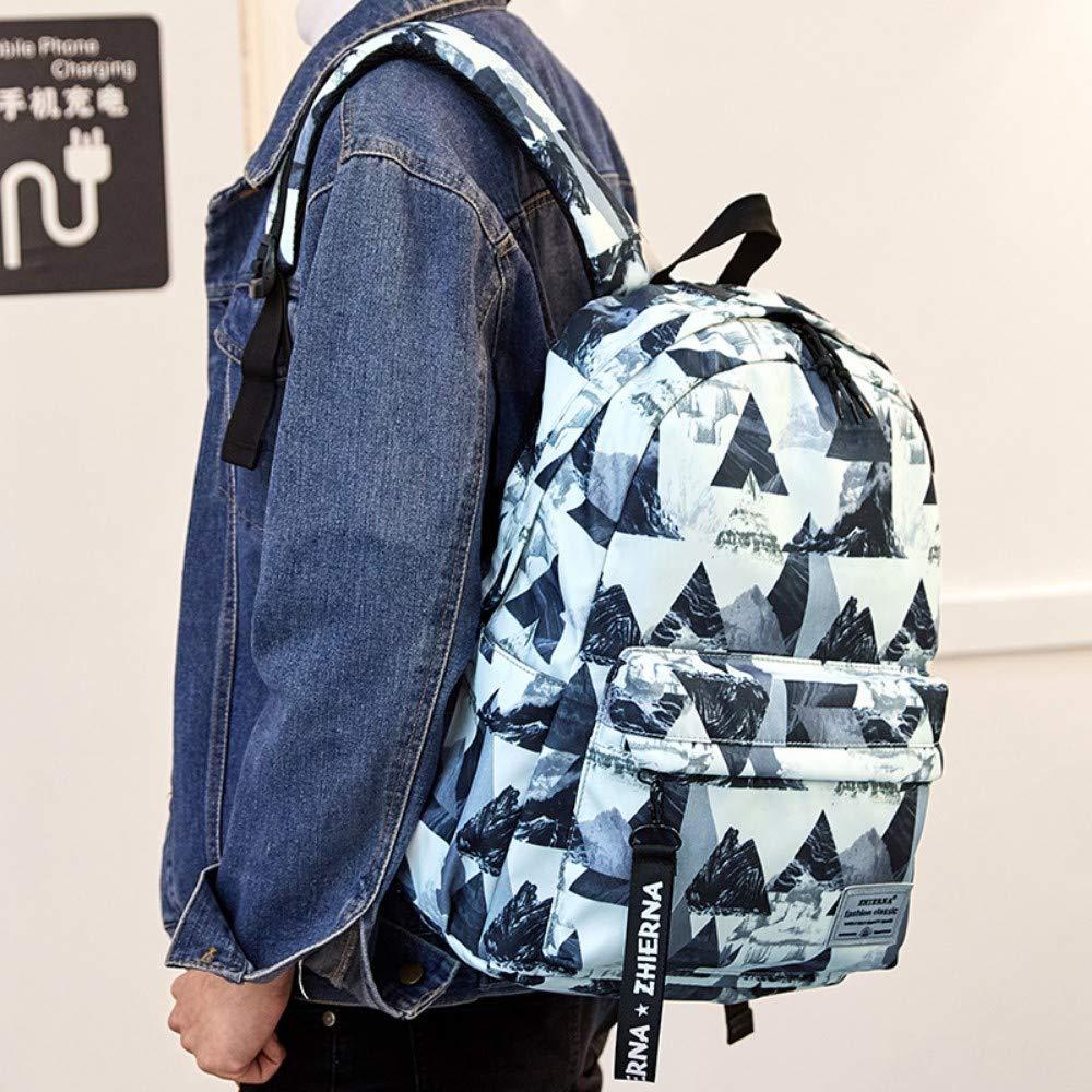 Zlk Backpack Backpack Female Student Bag Campus College Wind Simple Backpack