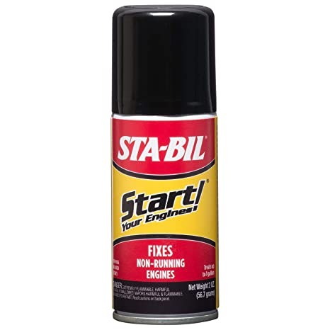 Start Your Engines! Fuel System Revitalizer and Starter Fluid for 2 and 4  Cycle Small Engines, 2 Fl  oz