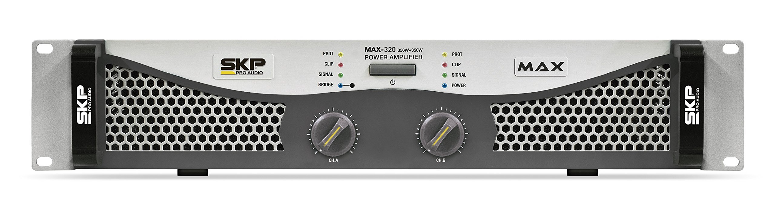 SKP Pro Audio Max-320 Stereo Output RMS Power 150 W Plus 150 W Powered Amplifier