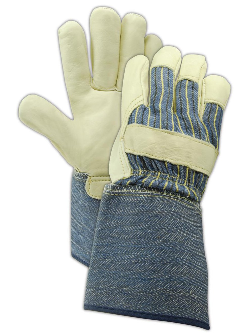 MAGID DuraMaster TG525E Leather Glove X-Large 1 Max 51% OFF Cuff Gauntlet Max 56% OFF
