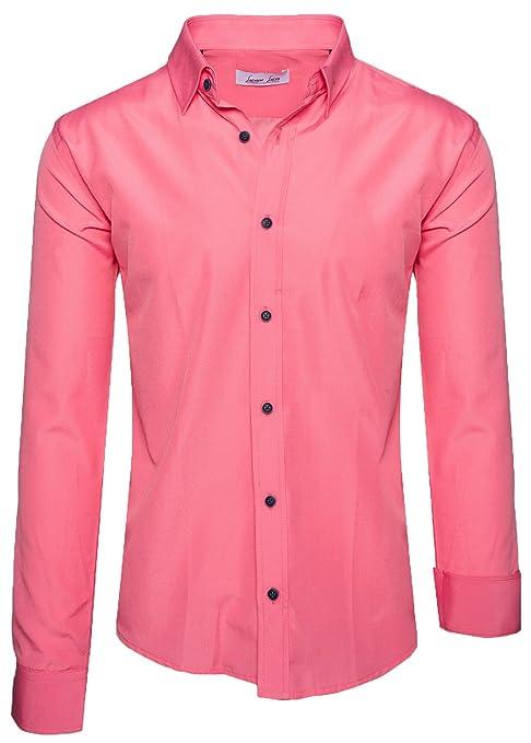 Rock Creek Herren Hemd Slim Fit Herrenhemd Business Hemd S-3XL LL-205:  Amazon.de: Bekleidung