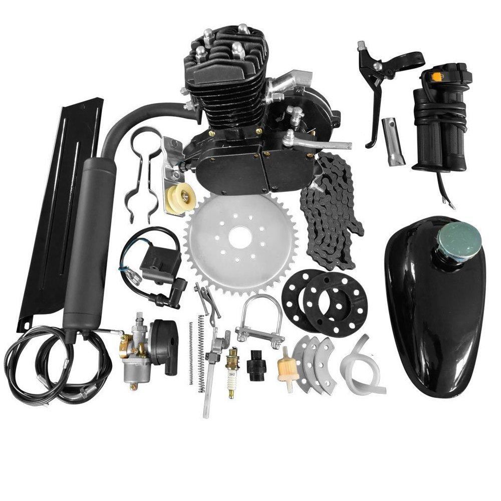 Roadstar 80cc 26 28 Bike Bicycle Motorized 2 Stroke Engine Pv Diagram Cycle Petrol Gas Kit Set Black Automotive