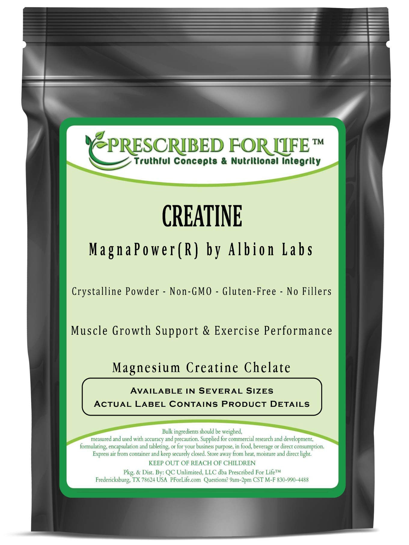 Creatine MangnaPower (R) - Magnesium Creatine Chelate by Albion, 2 kg