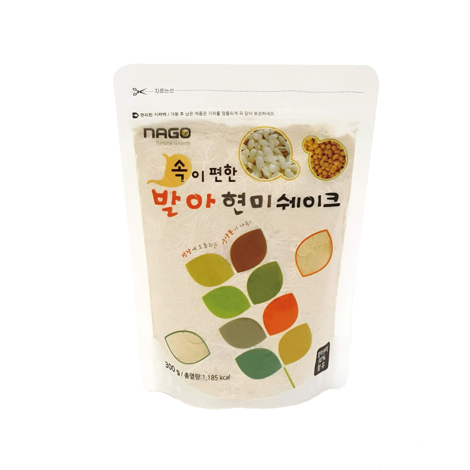 Gaba Rice Meal Replacement Shake - Healthy Meal Substitute 4 x 300g Germinated Brown Rice Powder (4 x 300g) by NAGO