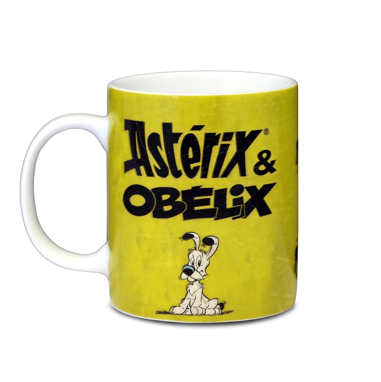 Taza de Desayuno dise/ño con Texto en alem/án Porcelana Logoshirt Asterix Der Gallier Asterix /& Obelix Prrrr
