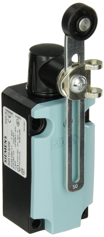 Adjustable Length 1 NO 19mm Plastic Roller 40mm Metal Enclosure 1 NC Contacts 3SE51120CH50 Metal Lever Snap Action Contacts Siemens 3SE5 112-0CH50 International Limit Switch Complete Unit Twist Lever