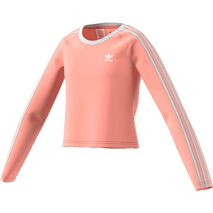 Essentials Linear Full Zip Felpa Ragazze Lilla, Rosa