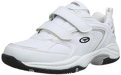HiTec BLAST LITE EZ Mens Velcro Trainers White US 8