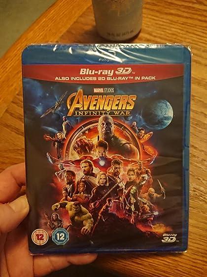 Avengers: Infinity War (Plus Bonus Content) Probably not scam! It is European region free 3d bluray