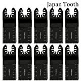 HOTBEST 10pcs Japan Tooth Universal Wood