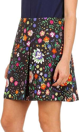 Naf Naf Epreppy Falda, Multicolor (Imprime), 42 para Mujer: Amazon ...