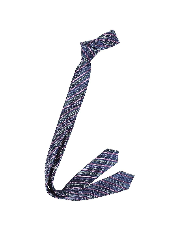 Laura Biagiotti Mens LBNAVYBLUE Blue Silk Tie