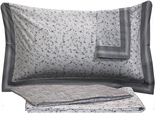 Juego de sábanas para cama de matrimonio de 2 plazas, 100% algodón ...