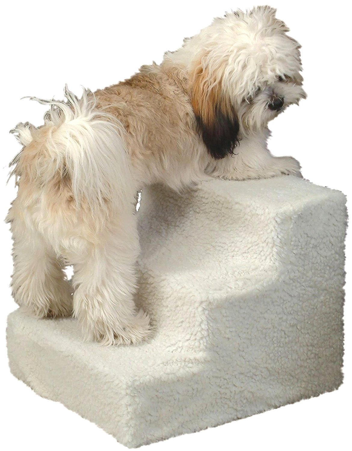 """3 Step Pet Stairs For Small Dogs And Cats Up to 20lbs Steps Pet Ramp Portable Measures 12.75""""H x 15""""W x 16""""L"""