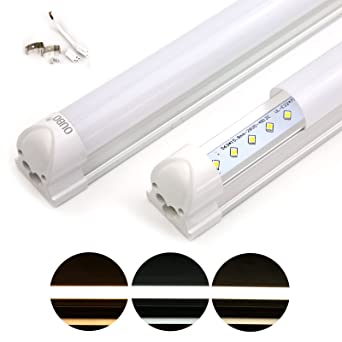 Oubo Réglette Led 90cm T8 Support Tube Fluoescent Eclairage De