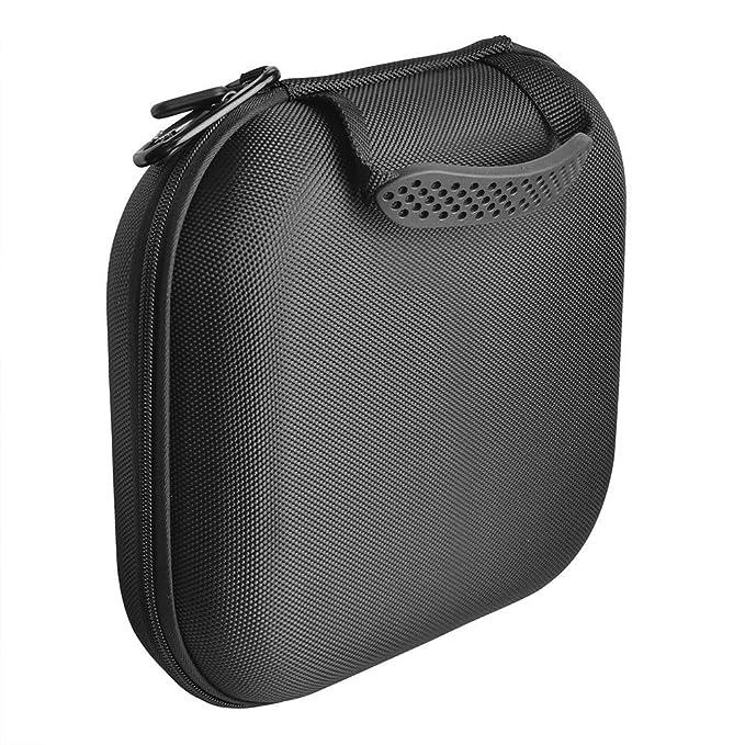 Xinvision Funda Bolso para Sony MDR-XB950N1/WI-1000X HI-Res/WH-1000XM2,Nylon Estuche Rígida de Viaje Bolso Funda Estuche Caja(25 * 22 * 7 cm, ...