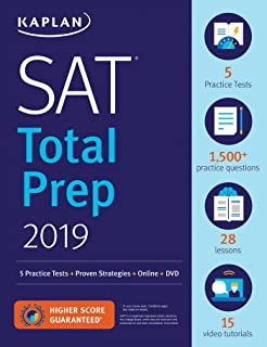 The official sat study guide with dvd the college board sat total prep 2019 5 practice tests proven strategies online kaplan test fandeluxe Choice Image