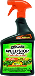 Spectracide Weed Stop For Lawns Plus Crabgrass Killer, Ready-to-Use, 32-Ounce