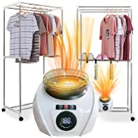 Jenkee Portable electric clothes dryers household baby clothes drying warm wind laundry Garment tumble cloth warmer