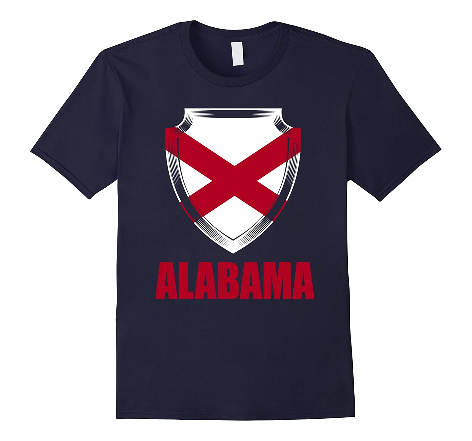 Alabama Flag Gift Pride T-Shirt-Vaci