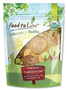 Organic Figs, 4 Pounds - Non-GMO, Kosher, Raw, Vegan