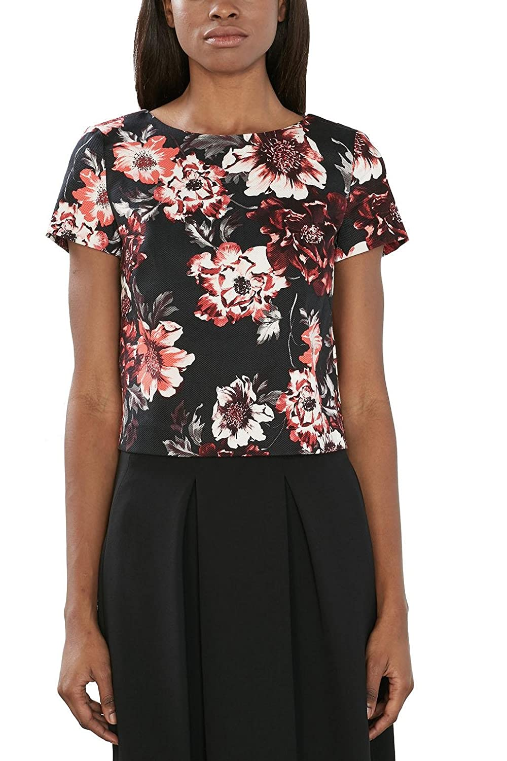 ESPRIT Collection Camicia Donna ESPRIT Collection 126EO1F013 Multicolore (BLACK) 36 126EO1F013-001