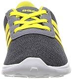 adidas Baby Lite Racer Running Shoe, Carbon/Shock