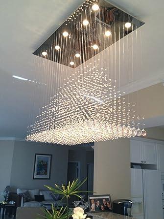 Fesselnd Moderne Kristall Deckenleuchte Beleuchtung Deckenleuchte Fixture Hotel  Studio Crystal Anhänger Ankleidezimmer Schönheitssalon Esszimmer Wohnzimmer
