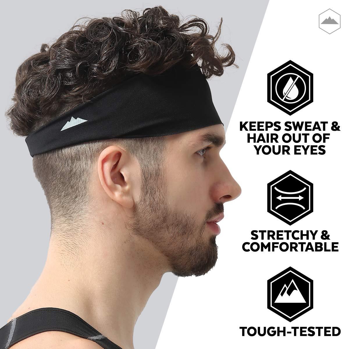 Tough Headwear Men's Running Headband