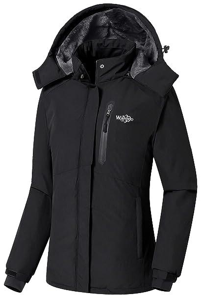 Amazon.com: Wantdo - Chaqueta de esquí para mujer con ...