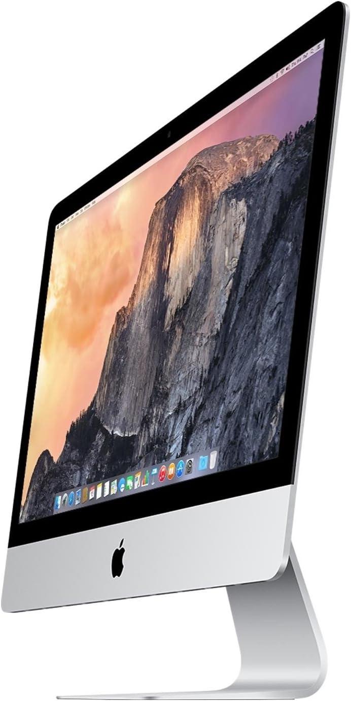 Apple iMac MF886LL/A Intel Core i5-4690 X4 3.5GHz 8GB 1.1TB 27in,Silver(Renewed)