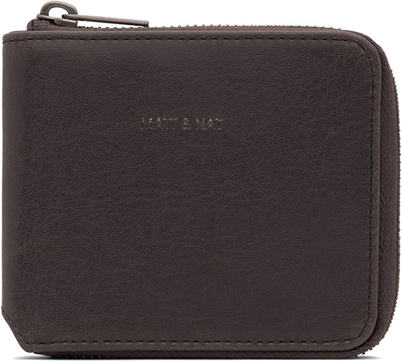 Charcoal Grey Matt /& Nat Watson Handbag Vintage Wallets Collection