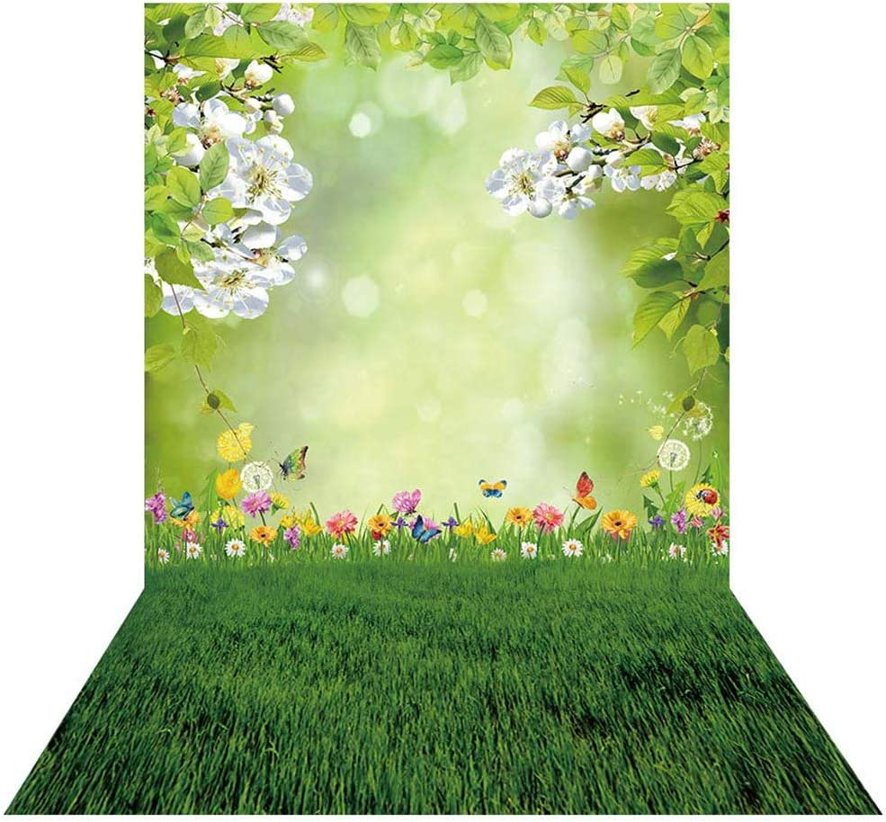House Flowers Photography Backdrops Photo Props Studio Background 5x7ft