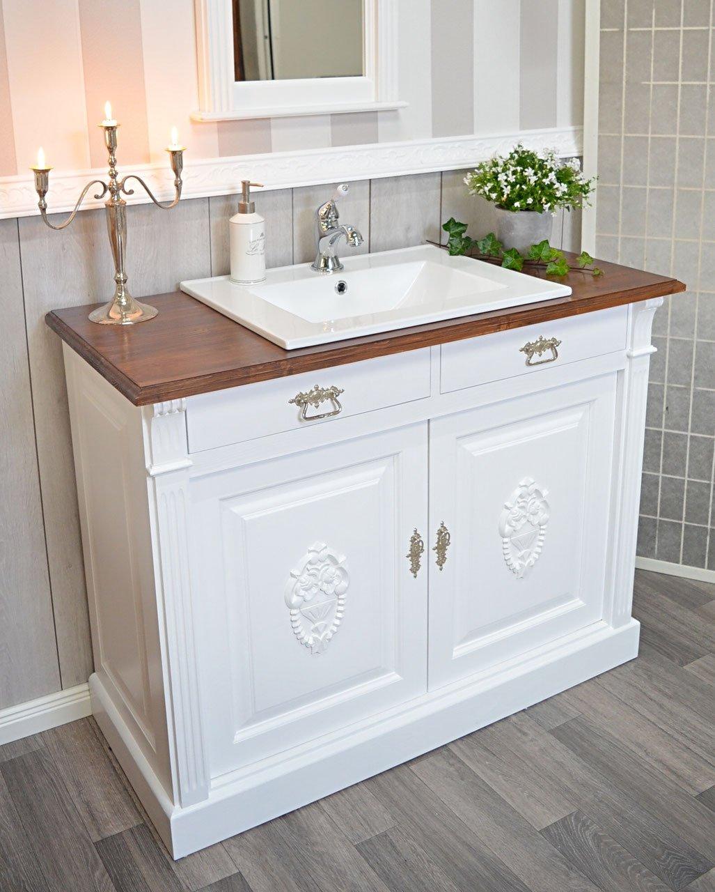 País & Amor de Muebles de baño GmbH Elea: rústico de Lavabo, Vintage, Shabby Chic de, nostálgico: Amazon.es: Hogar