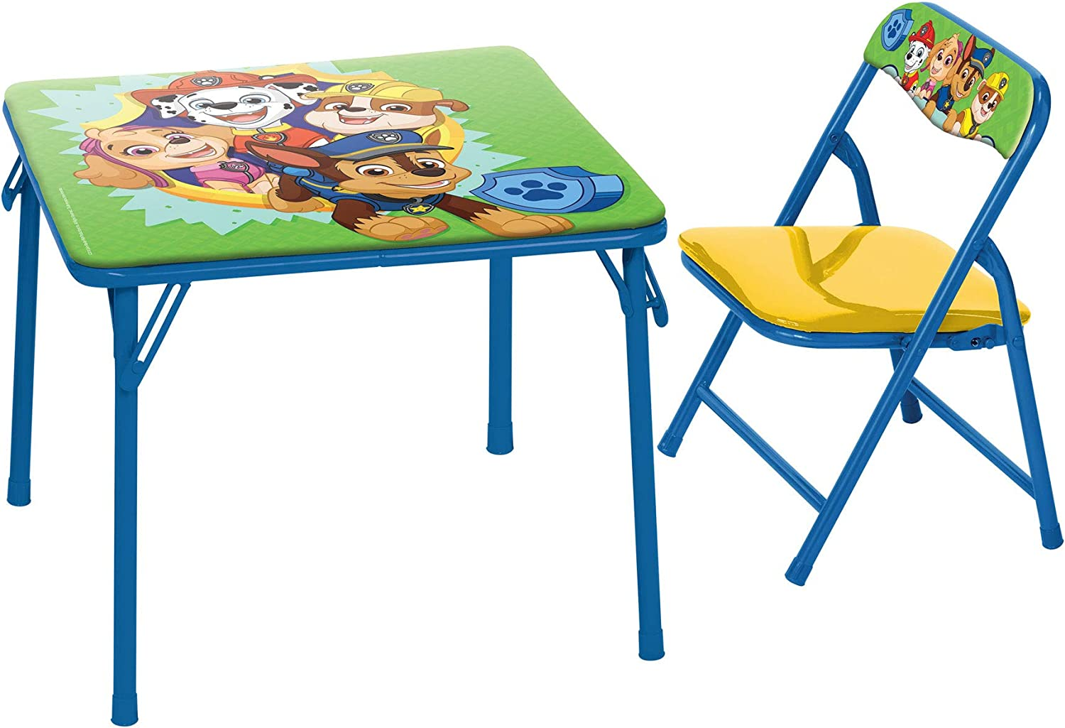 Padded Chairs Paw Patrol Junior Table /& Chair Set Folding Table