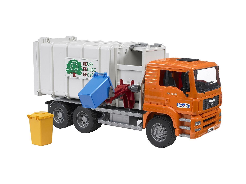 Bruder 02761 TOYS MAN TGA Seitenlader Müll-LKW B0009U7JNW Miniaturmodelle Schön  | Helle Farben