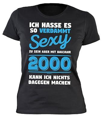 Sexy Damen T Shirt Exklusiv Zum 18 Geburtstag Cooles Geschenk Zum