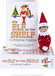 The Elf on the Shelf Girl Light, Red and White