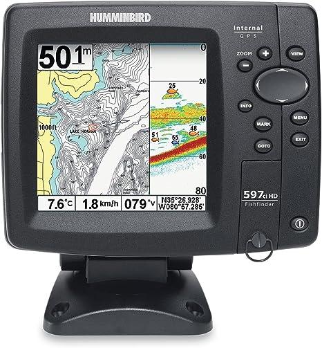 sondeur Echo Radar pesca ff597ci HD portátil – fuera batería: Amazon.es: Deportes y aire libre