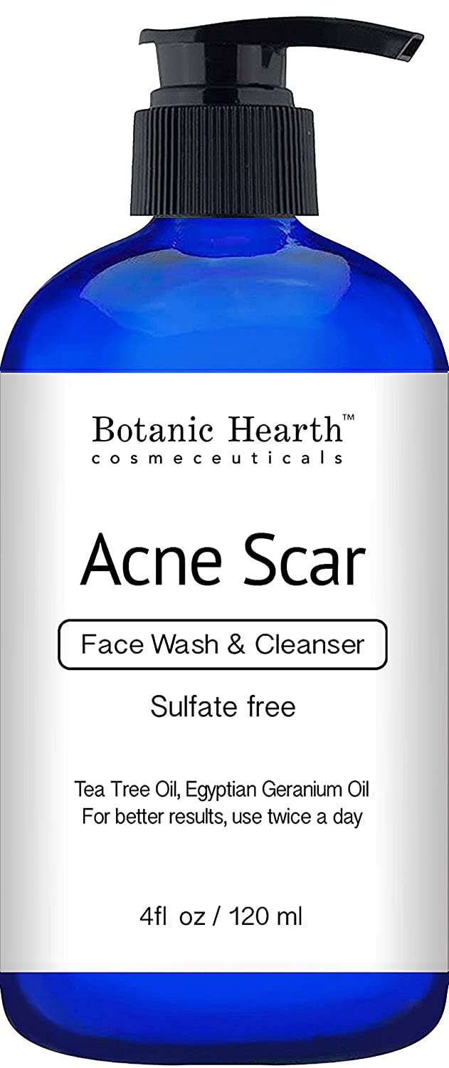 Botanic Hearth Acne Wash, Sulfate Free, Reduces The Appearance Of Scars And Hyperpigmentation, For Face And Body, 4 Fl Oz by Botanic Hearth