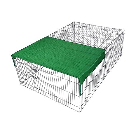 WilTec Recinto Jaula para Animales 216x116x65cm con protección ...
