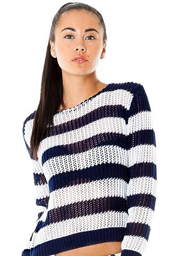 Città aperta della dea maglia maglione nautico. Disponibili in varie misure