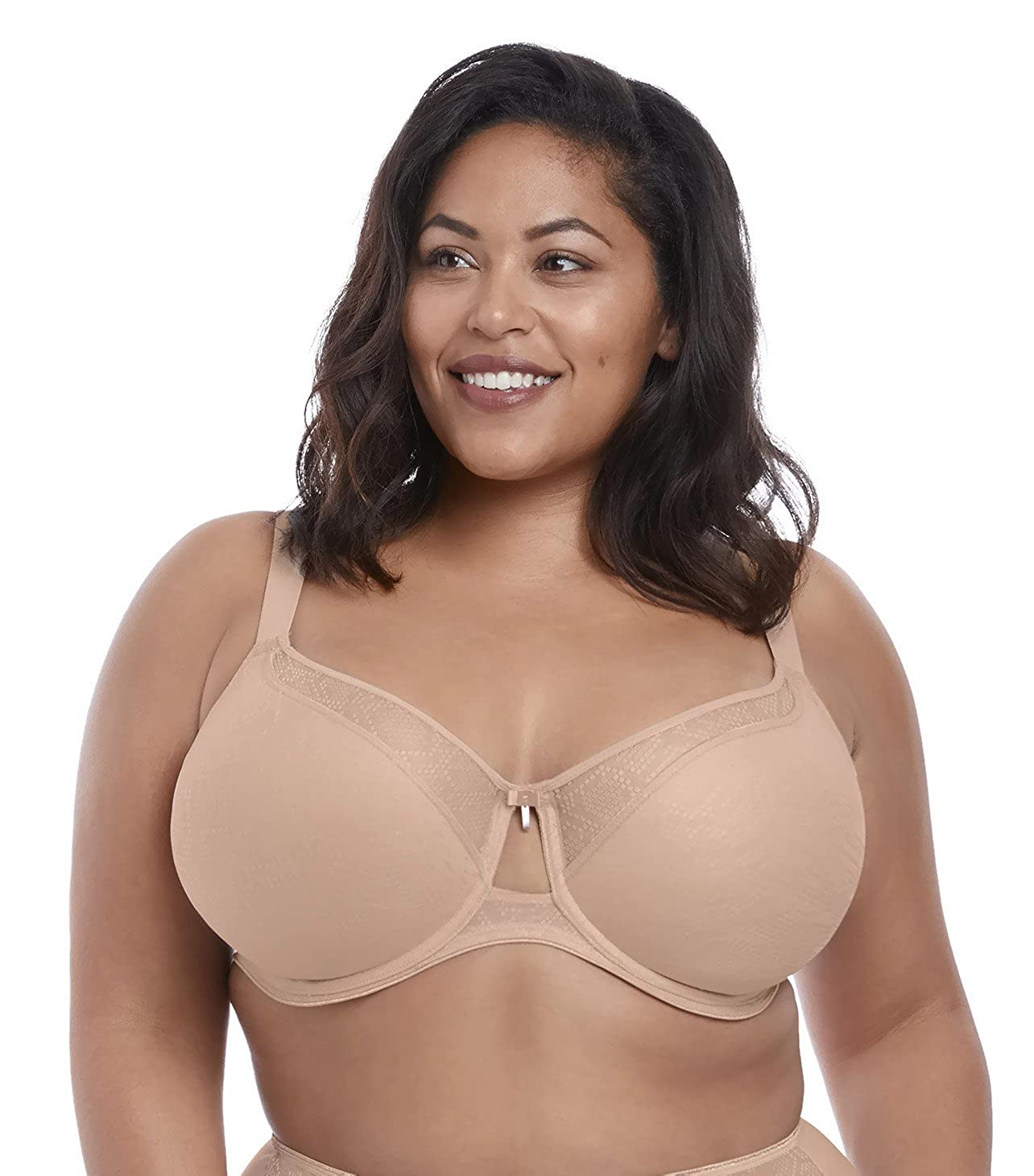 Elomi Womens Plus Size Mia Seamless Spacer Underwire Bra at Amazon Womens Clothing store:
