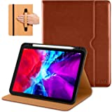 DTTO Case for New iPad Pro 12.9 Inch 4th Generation 2020/2018, Premium PU Leather Folio Stand Cover [Apple Pencil Pair…